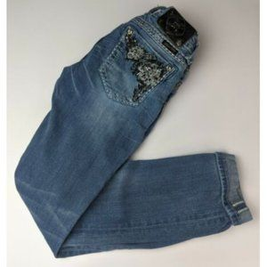 Miss Me Jeans Buckle Size 24 Straight Embellished